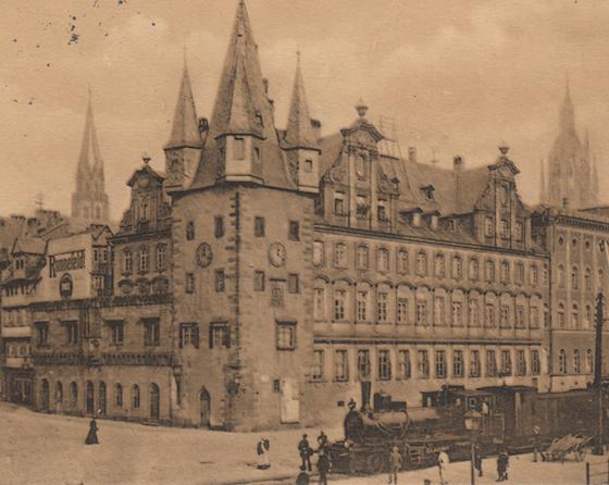 Die unbekannte Tee-Stadt Frankfurt amMain