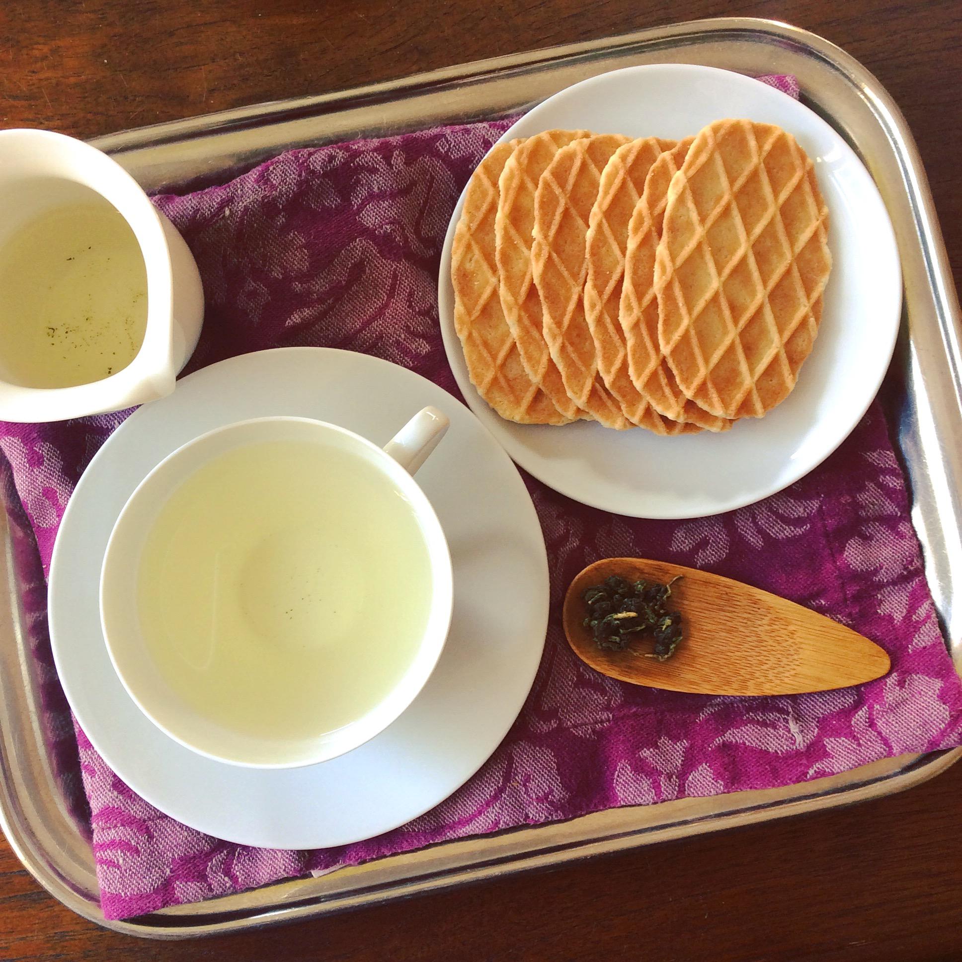 Eine Teereise daheim